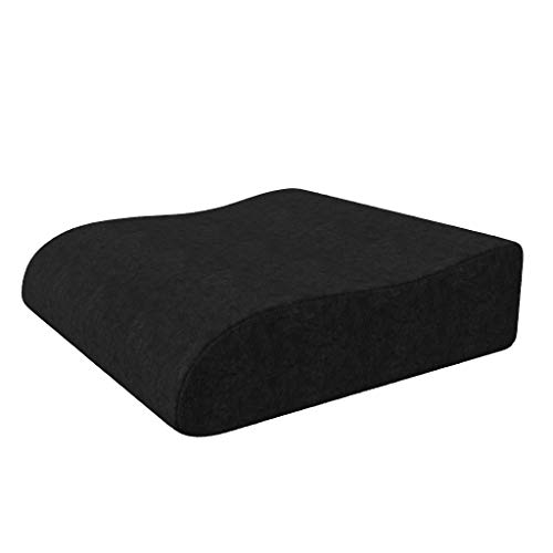 bonmedico Raiser Cushion, Innovative Foam Chair seat Cushion, Ergonomic Wedge Cushion with high Seating Comfort, seat Riser Cushion to Support Standing up from The Armchair