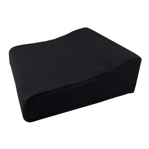 PrimoLiving Aufstehkissen mit Anti-Rutsch Unterseite 40 x 40 x 13/8 cm P-467 Sitzkissen Aufstehhilfe für Sessel Sofa Stuhl, schmerzlindernd und entlastend. Abnehmbarer Bezug in schwarz.