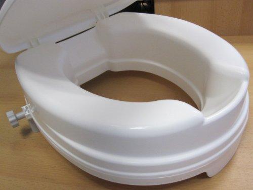 Toilettensitzerhöhung 10 cm Dietz Toilettenaufsatz Relaxon WC-Aufsatz Toilettensitz