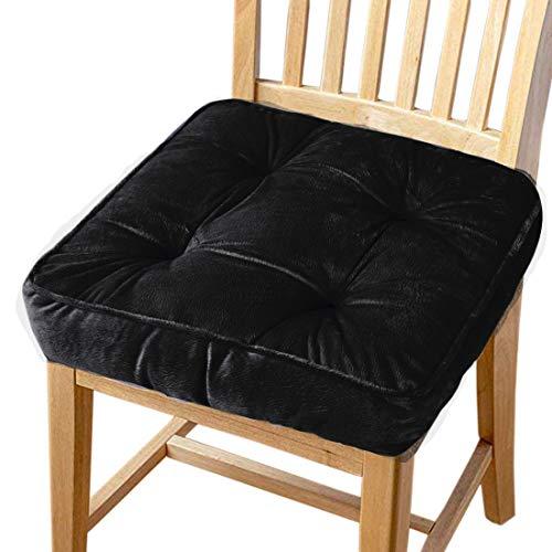 Big Ant Stuhlkissen Sitzkissen mit Bändern, Stuhl Auflage für Innen- und Außenbereich Sitzerhöhung Stuhl Sitzpolster Passt für Haus, Garten, Büro und Autositze (1 Stück)