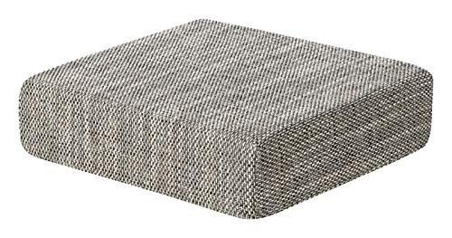 Schwar Textilien Kissen Sitzblock Bodenkissen Stuhlkissen Sitzerhöhung orthopädisch Trend 6 Farben (hellgrau)